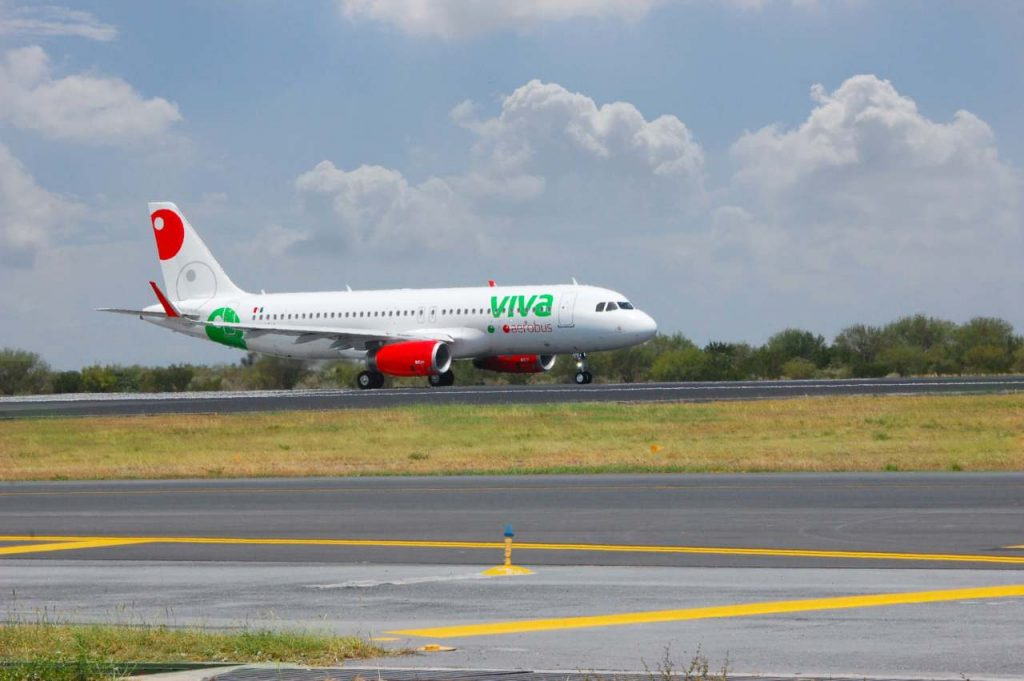 Viva Aerobus crece en pasajeros en marzo pese al coronavirus