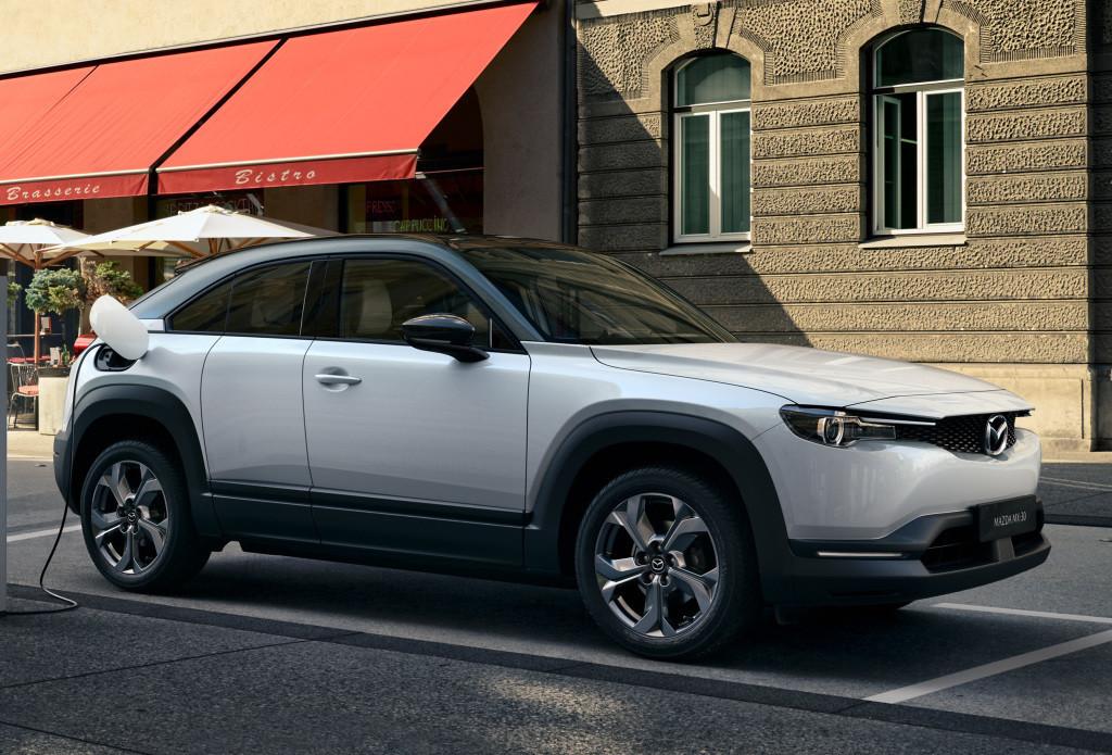 Mazda MX-30: El primer eléctrico de la familia ya se produce en Japón