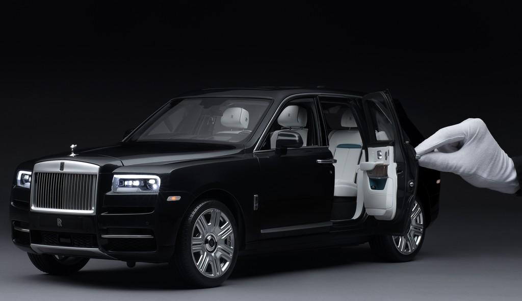 ¿Un Rolls Royce Cullinan por 400,000 pesos?, sí pero a escala 1:8