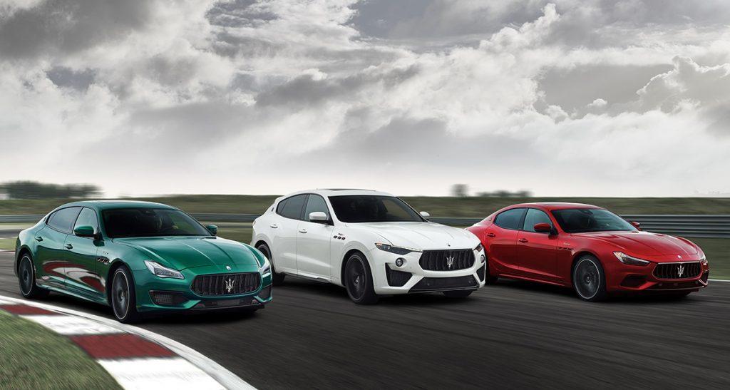 Collezione Trofeo: las nuevas Maserati con motor Ferrari llegarán este verano a la Argentina