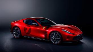 Ferrari Omologata 2020, un automóvil único que rinde tributo a los GT clásicos de la marca
