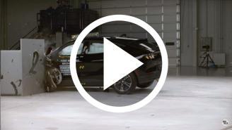 Nuevo Ford Mustang Mach-E 2021: Â¡este es su crash test!